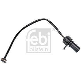 Verschleißanzeige Bremsbeläge VW PASSAT Variant (3B6) 1.9 TDI 130 PS ab 11.2000 FEBI BILSTEIN Warnkontakt, Bremsbelagverschleiß (31410) für