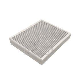 Filter, Innenraumluft Länge: 215mm, Breite: 250,0mm, Höhe: 30mm mit OEM-Nummer 1808527