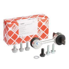 FEBI BILSTEIN Stange/Strebe, Stabilisator 32491 für AUDI A4 Cabriolet (8H7, B6, 8HE, B7) 3.2 FSI ab Baujahr 01.2006, 255 PS