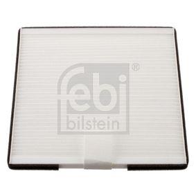 Filter, Innenraumluft Länge: 213mm, Breite: 199,0mm, Höhe: 10mm mit OEM-Nummer 96425700