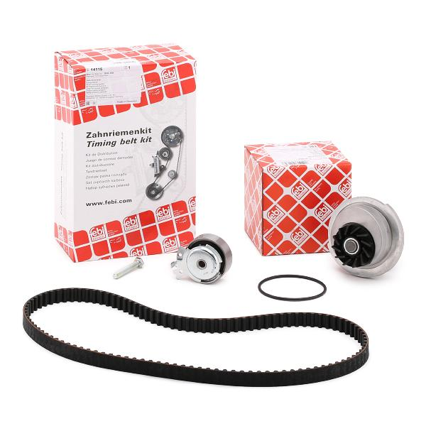Водна помпа+ к-кт ангренажен ремък 32717 FEBI BILSTEIN 32717 в оригиналното качество