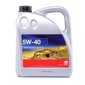 Motoröl für OPEL CORSA C (F08, F68) 1.2 75 PS ab Baujahr 09.2000 FEBI BILSTEIN Motoröl (32937) für