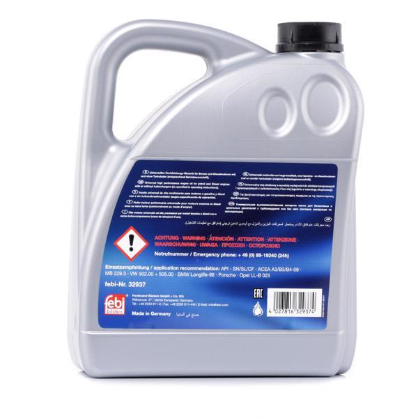 Engine Oil FEBI BILSTEIN RenaultRN0710 4027816329374