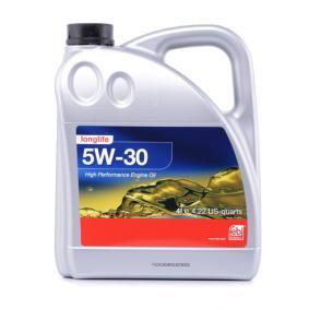Motoröl für OPEL CORSA C (F08, F68) 1.2 75 PS ab Baujahr 09.2000 FEBI BILSTEIN Motoröl (32942) für
