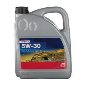 FEBI BILSTEIN Motoröl 32943 für AUDI A4 Avant (8E5, B6) 3.0 quattro ab Baujahr 09.2001, 220 PS