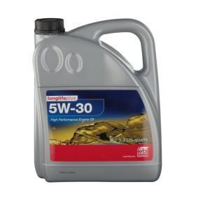 Motoröl für VW GOLF IV (1J1) 1.6 100 PS ab Baujahr 08.1997 FEBI BILSTEIN Motoröl (32947) für