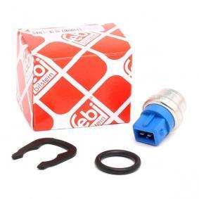 FEBI BILSTEIN Kühlmitteltemperatur-Sensor 34762 für AUDI 100 (44, 44Q, C3) 1.8 ab Baujahr 02.1986, 88 PS