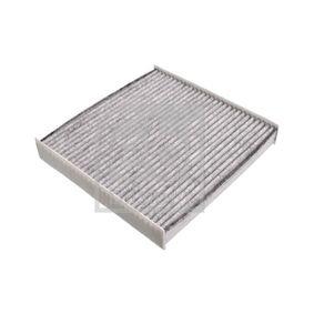Filter, Innenraumluft Länge: 225mm, Breite: 218,0mm, Höhe: 35mm mit OEM-Nummer 6447-SZ