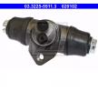 OEM Radbremszylinder ATE 020102 für VW