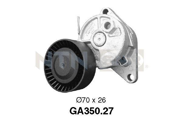 SNR  GA350.27 Spannrolle, Keilrippenriemen