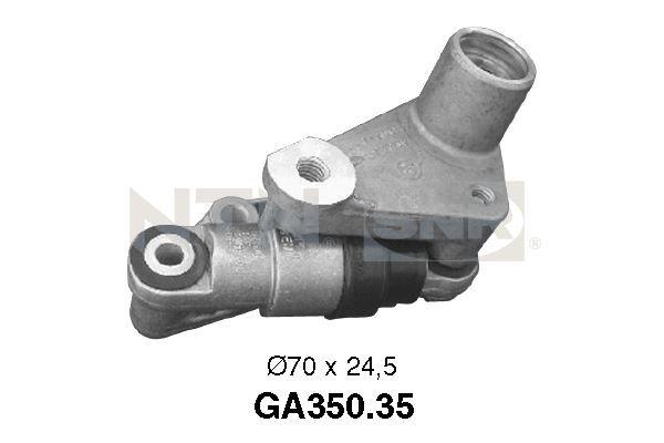 SNR  GA350.35 Spannrolle, Keilrippenriemen