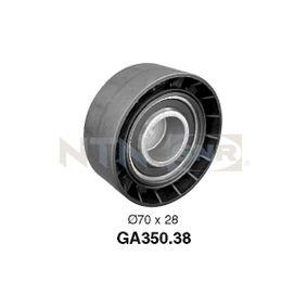 SNR  GA350.38 Spannrolle, Keilrippenriemen