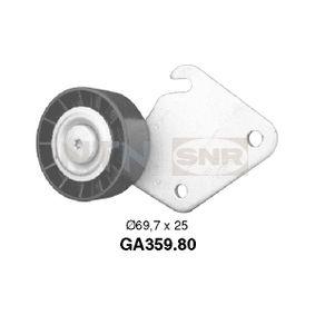 SNR  GA359.80 Umlenkrolle Keilrippenriemen Ø: 69,7mm, Breite 1: 25mm