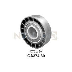 SNR  GA374.30 Spannrolle, Keilrippenriemen