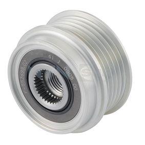 Freilauf Lichtmaschine VW PASSAT Variant (3B6) 1.9 TDI 130 PS ab 11.2000 SNR Generatorfreilauf (GA754.03) für