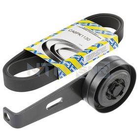 V-Ribbed Belt Set Length: 1130mm, Number of ribs: 6 with OEM Number 7700114730