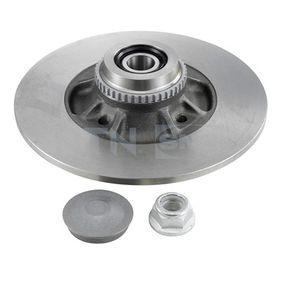 Disco de freno Espesor disco freno: 8,1mm, Núm. orificios: 4, Ø: 237mm con OEM número 7703034250