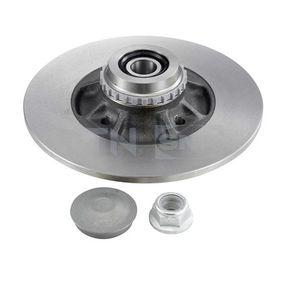 Disco de freno Espesor disco freno: 8,1mm, Núm. orificios: 4, Ø: 237mm, Diámetro exterior 2: 237mm con OEM número 7703034250