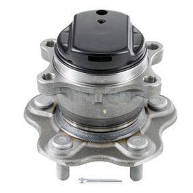 Kit cuscinetto ruota (R168.75) per per Cuscinetto Ruota NISSAN QASHQAI / QASHQAI +2 (J10, JJ10) 1.5 dCi dal Anno 07.2008 103 CV di SNR