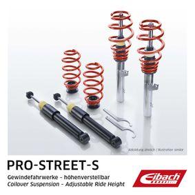 Honda Civic eu7 1.6i Fahrwerkssatz, Federn / Dämpfer EIBACH Pro-Street-S PSS65-40-001-01-22 (1.6i Benzin 2001 D16W7)