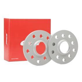 EIBACH Pro-Spacer S90-2-10-027 Spurverbreiterung Gewindemaß: M14x1,5, Lochanzahl: 10, Spurverbreiterung pro Achse: 20mm