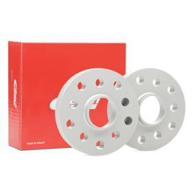 EIBACH Spurverbreiterung S90-2-20-003 für AUDI A3 (8P1) 1.9 TDI ab Baujahr 05.2003, 105 PS