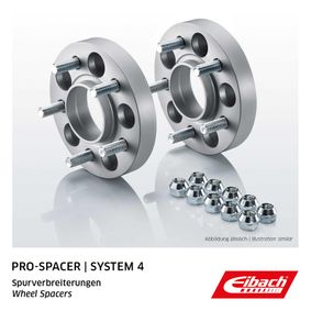 EIBACH Pro-Spacer S90-4-20-019 Spurverbreiterung Gewindemaß: M12x1,25, Lochanzahl: 6, Lochkreis-Ø: 114,3mm, Spurverbreiterung pro Achse: 40mm