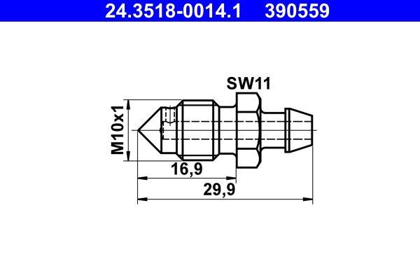 Entlüfterschraube / -ventil ATE 24.3518-0014.1 Bewertung