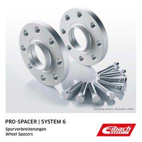 EIBACH Pro-Spacer S90-6-15-027 Spurverbreiterung Gewindemaß: M12x1,5, Lochanzahl: 5, Lochkreis-Ø: 114,3mm, Spurverbreiterung pro Achse: 30mm