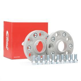 EIBACH Spurverbreiterung S90-7-20-017 für AUDI A3 (8P1) 1.9 TDI ab Baujahr 05.2003, 105 PS