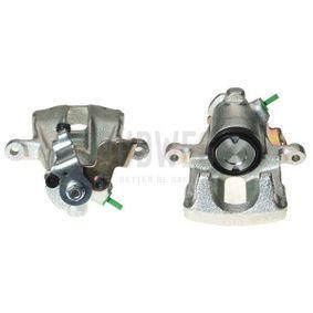 BUDWEG CALIPER Bremssattel 341953 für AUDI 80 (8C, B4) 2.8 quattro ab Baujahr 09.1991, 174 PS