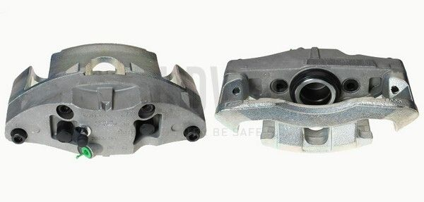 BUDWEG CALIPER  343846 Bremssattel Ø: 60mm, Bremsscheibendicke: 28mm