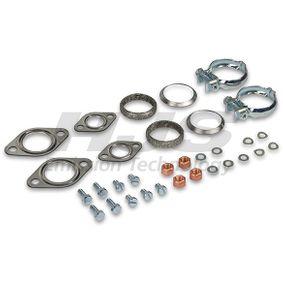 Montagesatz, Schalldämpfer mit OEM-Nummer 211.251.051 T