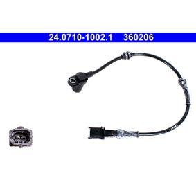 Sensor, Raddrehzahl Länge: 452mm mit OEM-Nummer 91 15 064