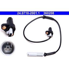 Sensor, Raddrehzahl Länge: 635mm mit OEM-Nummer 34 52 1 182 159