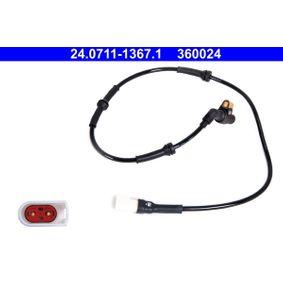 Sensor, Raddrehzahl Länge: 875mm mit OEM-Nummer 1089-12-8