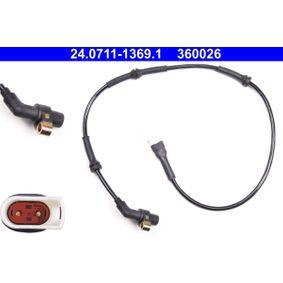 Sensor, Raddrehzahl Länge: 795mm mit OEM-Nummer 1038224