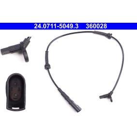Sensor, Raddrehzahl Länge: 581mm mit OEM-Nummer 98AG-2B372AE