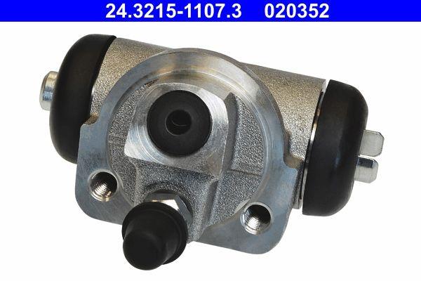 ATE  24.3215-1107.3 Cilindro de freno de rueda Ø cil. pistón: 15,87mm