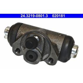 Radbremszylinder Ø: 19,05mm mit OEM-Nummer 4121616