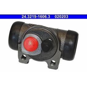 ATE  24.3219-1606.3 Radbremszylinder Zyl.-kolben-Ø: 19,05mm