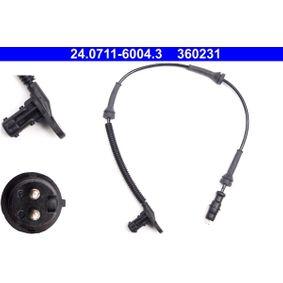 ATE  24.0711-6004.3 Sensor, Raddrehzahl Länge: 476mm