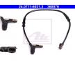 OEM ABS-givare 24.0711-6021.3 från ATE