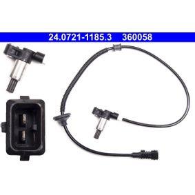 Sensor, Raddrehzahl Länge: 765mm mit OEM-Nummer 4545 54