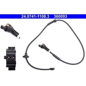 Sensor, Raddrehzahl mit OEM-Nummer 6K0 927 807 D