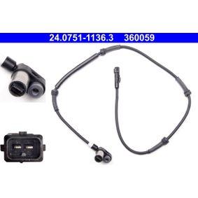 Sensor, Raddrehzahl Länge: 950mm mit OEM-Nummer 4545-43