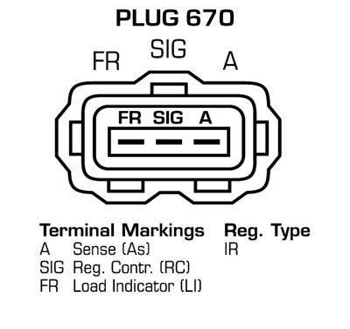 Lichtmaschine DRA4237 DELCO REMY DA5347 in Original Qualität