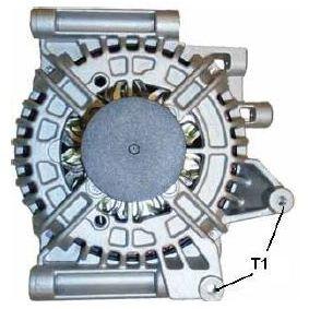 Generator Rippenanzahl: 6 mit OEM-Nummer A0131 540 002