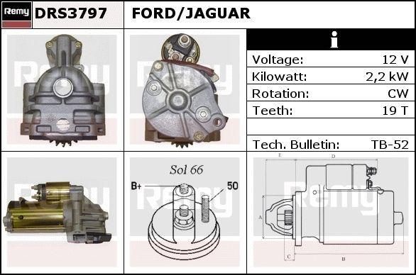 Image of DELCO REMY Motorino d'avviamento 5414352283243