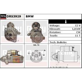 Starter DRS3929 3 Limousine (E46) 320d 2.0 Bj 2001